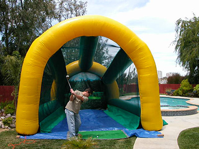 inflatable golf driving range - golf supplies